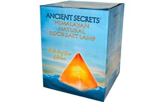 Солевая лампа от Ancient Secrets, Lotus Brand Inc
