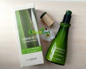 Увлажняющая эмульсия The Saem Urban Eco Harakeke Emulsion EX